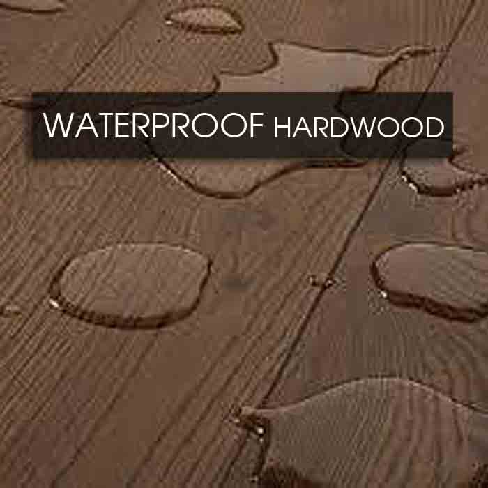 waterproof hardwood